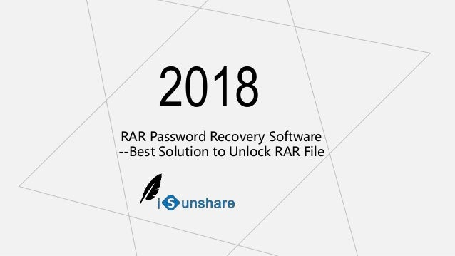 Rar password recovery software -best solution to unlock rar file