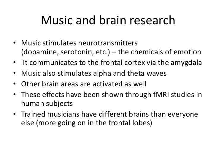 rasa and the brain