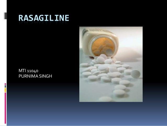 RASAGILINE MTI 11040 PURNIMA SINGH