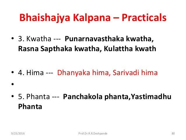 Bhaishajya Kalpana Book