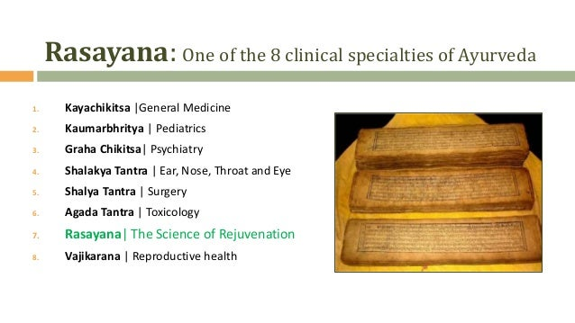 Rasayana- The anti-aging approach from Ayurveda for Sustainable Health and Longivity Slide 2