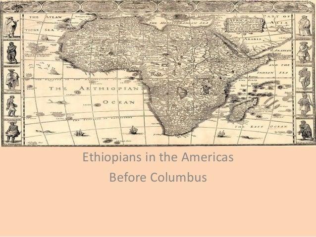 Ethiopians in the Americas Before Columbus