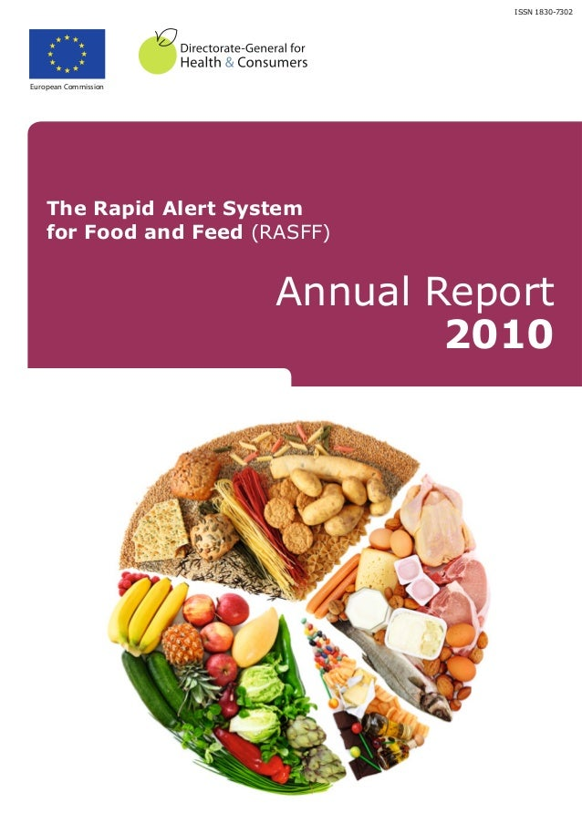 ISSN 1830-7302European Commission    The Rapid Alert System    for Food and Feed (RASFF)                        Annual Rep...