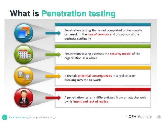 Penetration testing scope of work