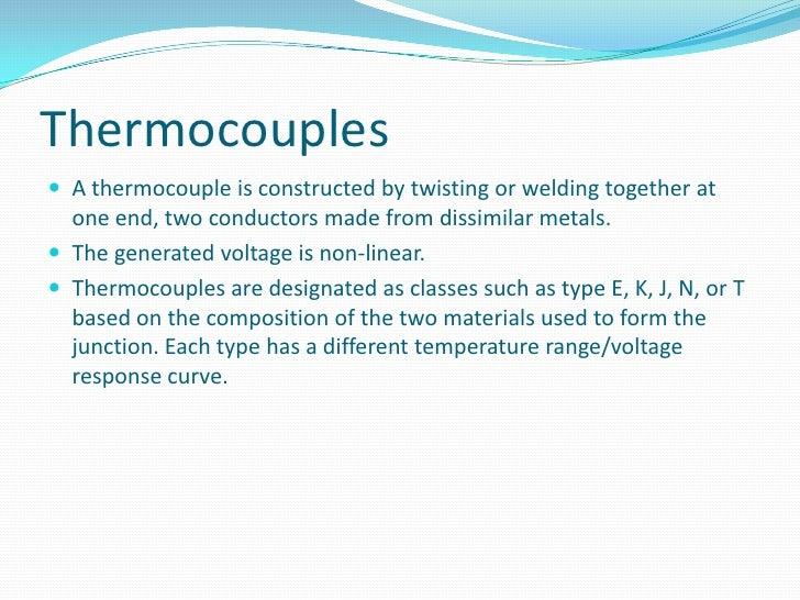 Temperature Sensor Thermocouple and RTD