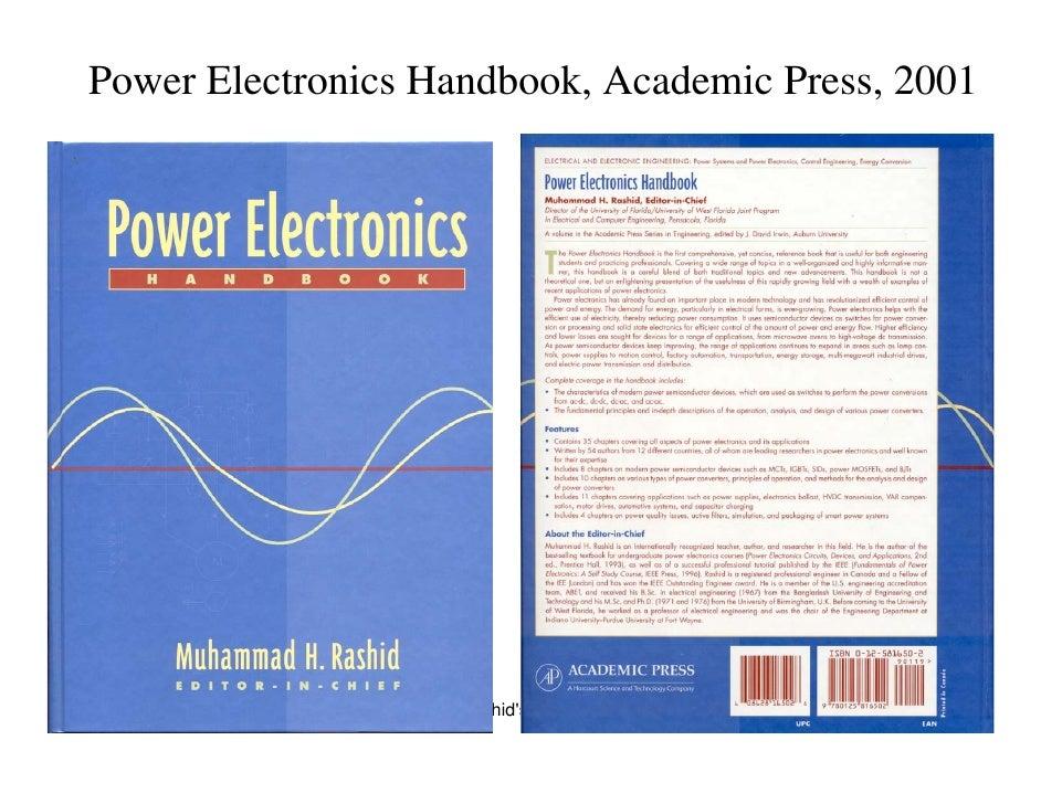 Power Electronics Book Rashid