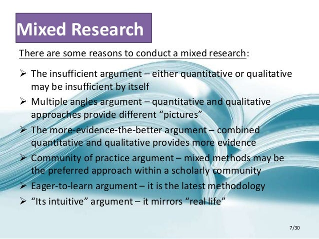 apa style research paper 6 30 7 mixed research