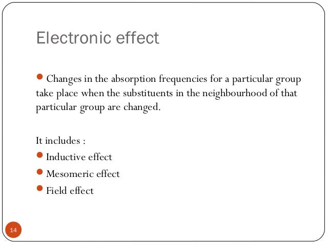 inductive and mesomeric effect pdf