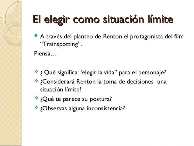 Rashomon situación límite elección dilema moral Slide 3
