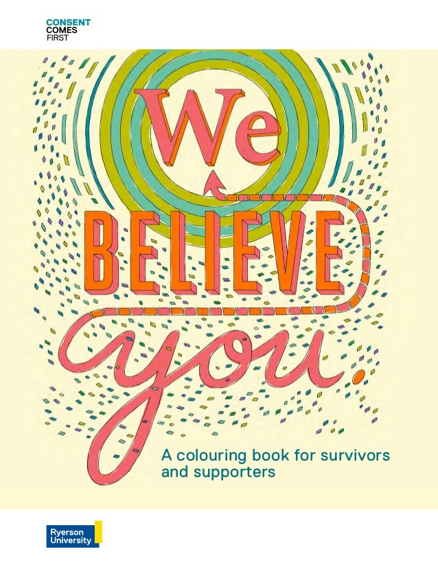A colouring book for survivors and supporters