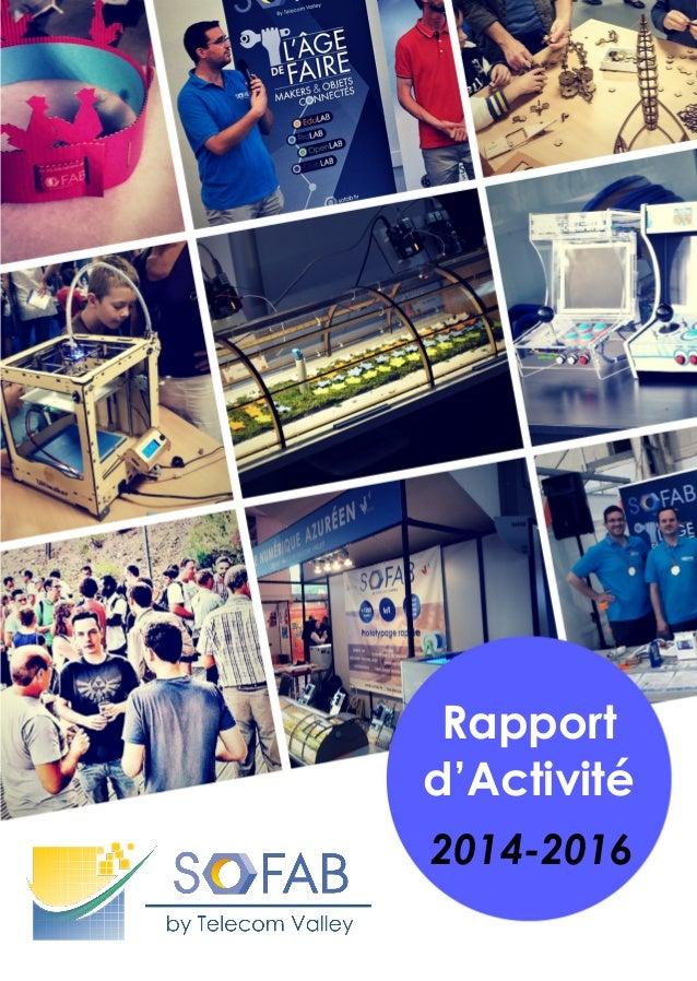 2014-2016 Rapport d'Activité
