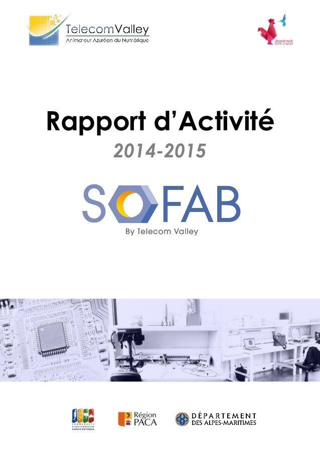 2014-2015 Rapport d'Activité