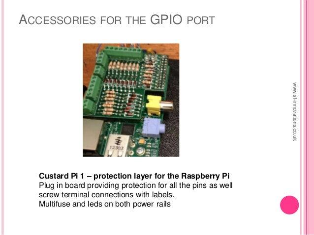Raspberry Pi Using the GPIO Port