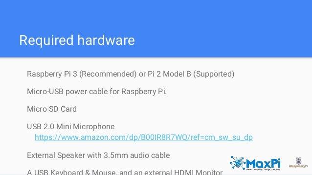 4fce97adf Raspberry Pi   Amazon s Alexa- Nayan Mujadiya