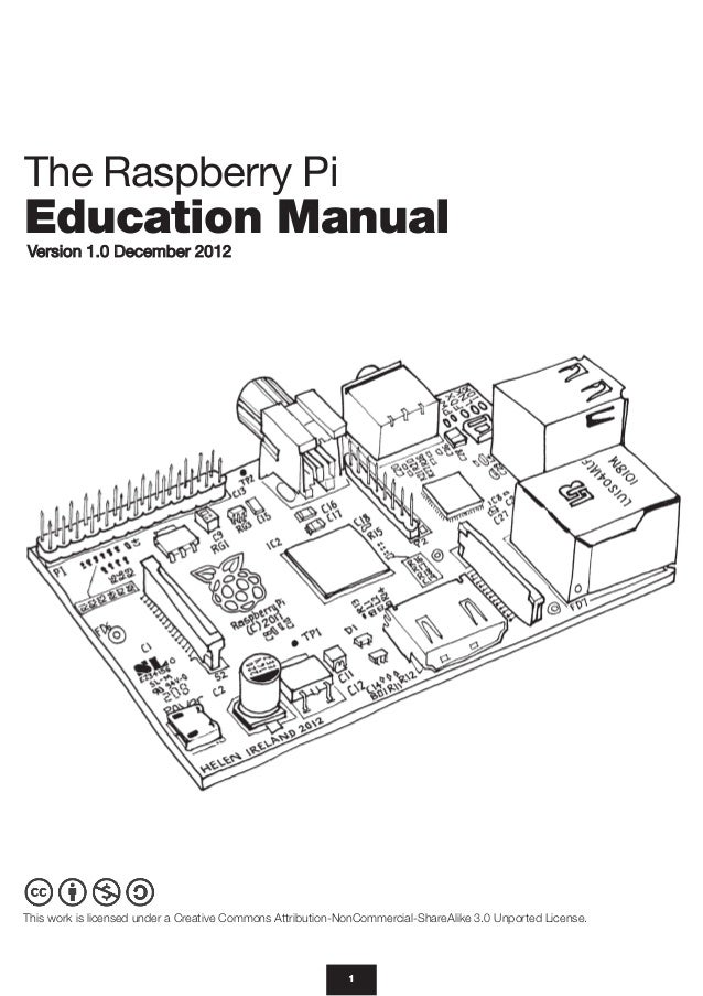 Raspberry pi education_manual