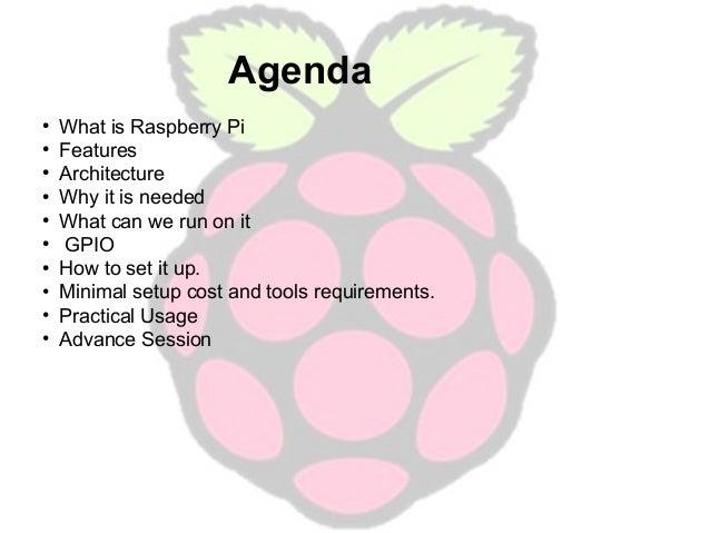 Raspberry pi Beginners Session Slide 2