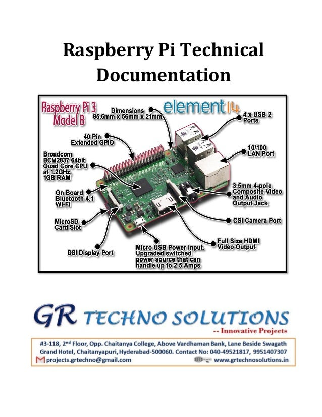 raspberry pi technical documentation rh slideshare net raspberry pi 3 b user guide raspberry pi 3 b user guide