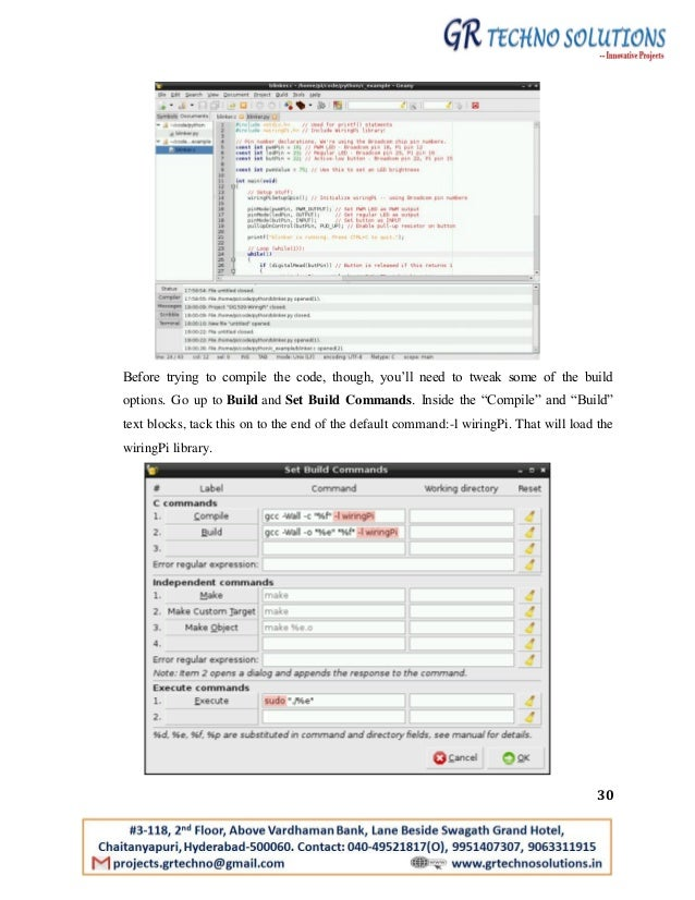 Raspberry pi technical documentation