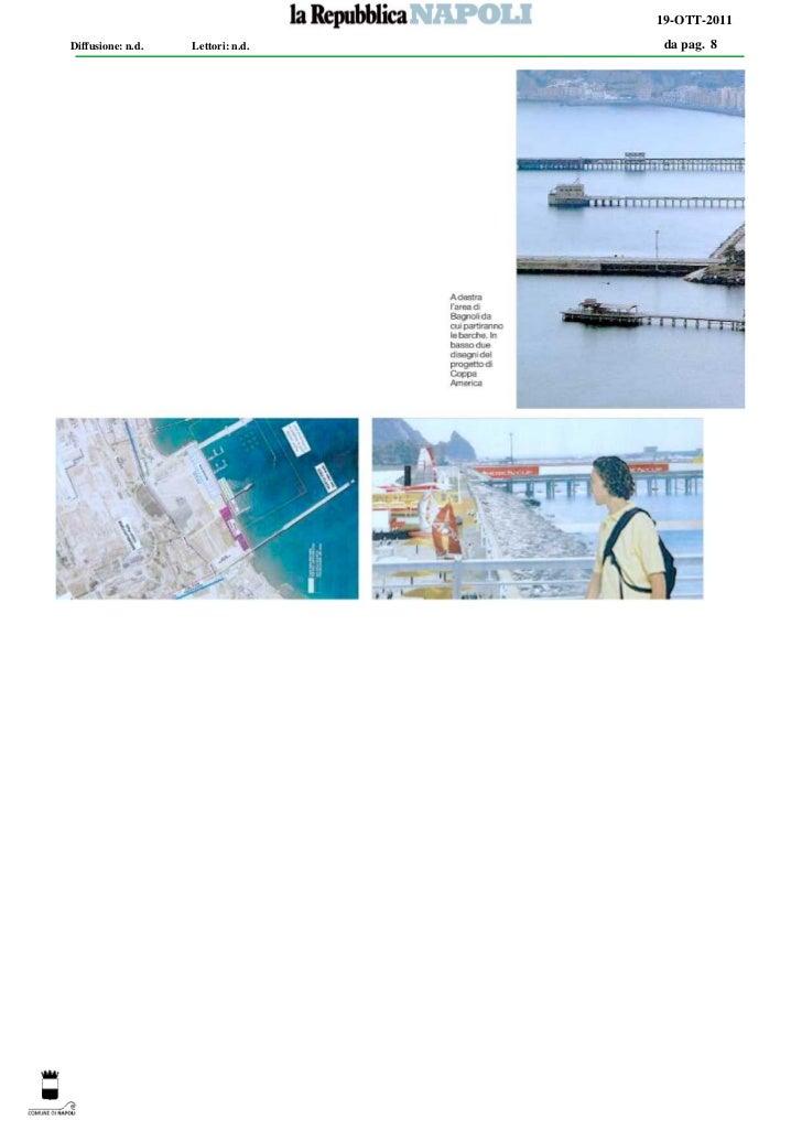 19-OTT-2011Diffusione: n.d.   Lettori: n.d.   da pag. 8