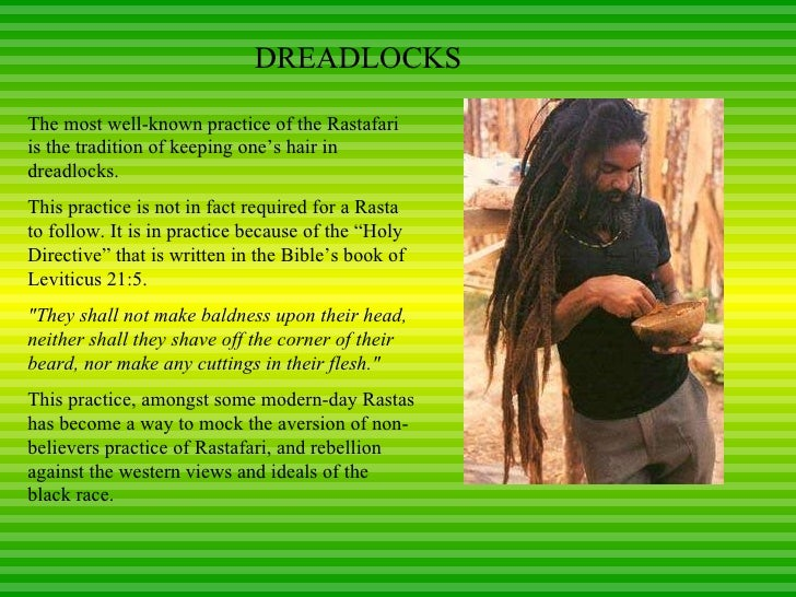 A Summary of Rastafarian Religious Beliefs, Practices, and Culture