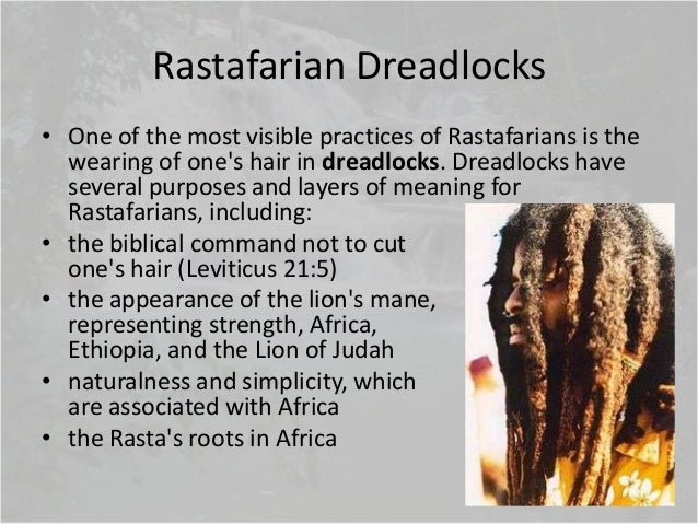 Rastafarianism The Rastafari Movement