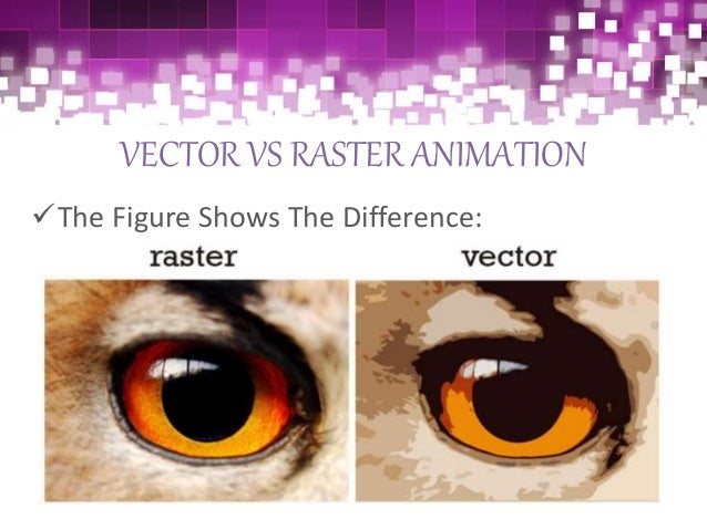 Raster animation
