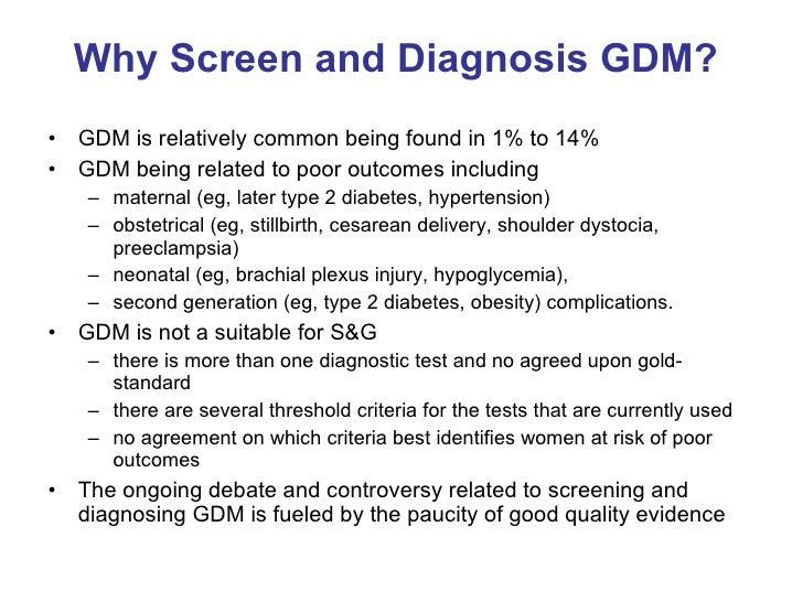 Rastreamento e  Diagnóstico DMG Megale 10 10 2008 Slide 2