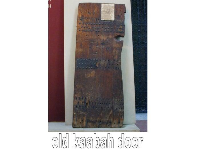 old kaabah door