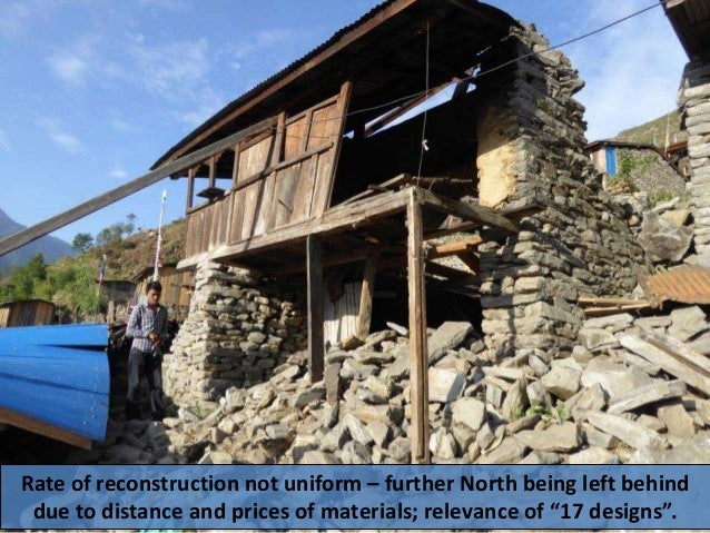 Reconstruction in Nepal - priorities and impressions - March 2017