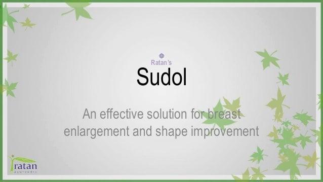 sudol capsules for breast enlargement