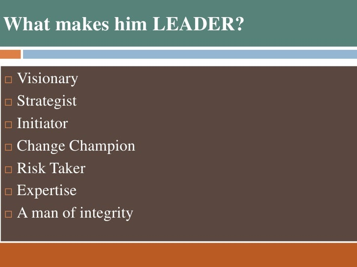 ratan tata leadership qualities Ratan tata: responsible leadership, conscious capitalism while tata did all the three things, what makes him different and superior is his inner qualities -- the being part of leadership when tata launched the small car nano.