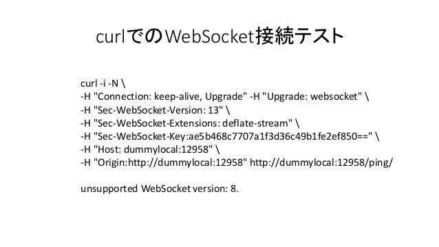 Ratchetでweb socketを使ってみたよ d0131 pub