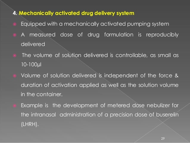 Rate Controlled Drug Delivery By Using Rate Preprogrammed