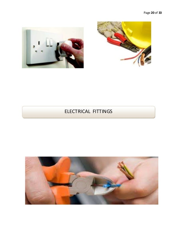 Page 20 of 33  ELECTRICAL FITTINGS