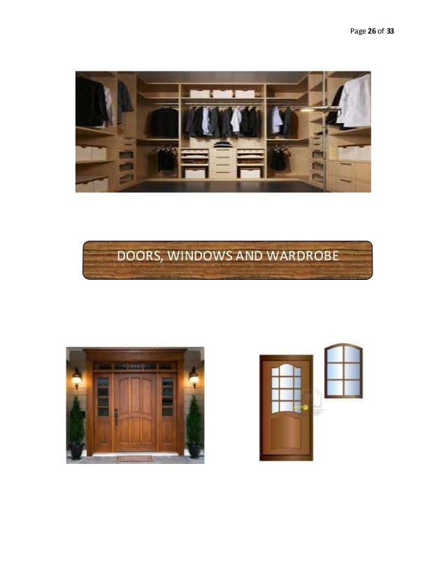 Page 26 of 33  DOORS, WINDOWS AND WARDROBE