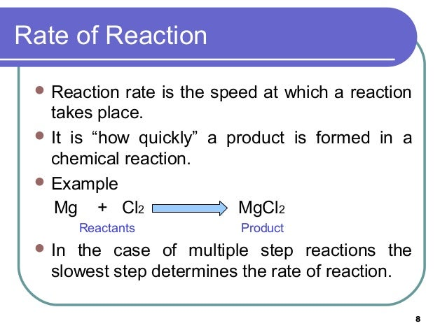 the rate and order of a In this experiment, the order of crystal violet in a reaction with a naoh and the rate constant for the reaction were determined using two methods, the integrated.