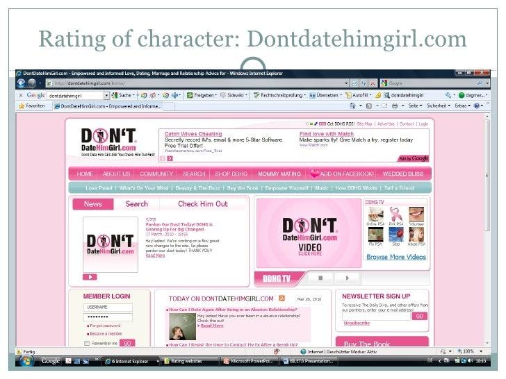 Dontdatehimgirl site