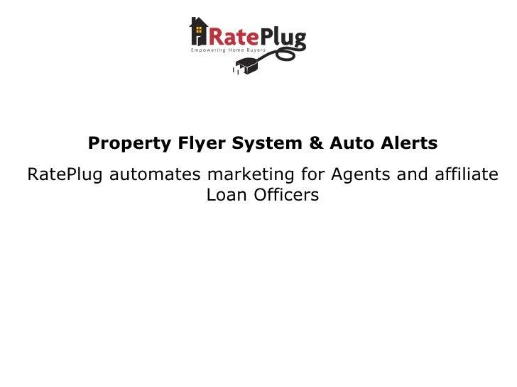 Rate Plug Lender Demo Ml Xchange 1