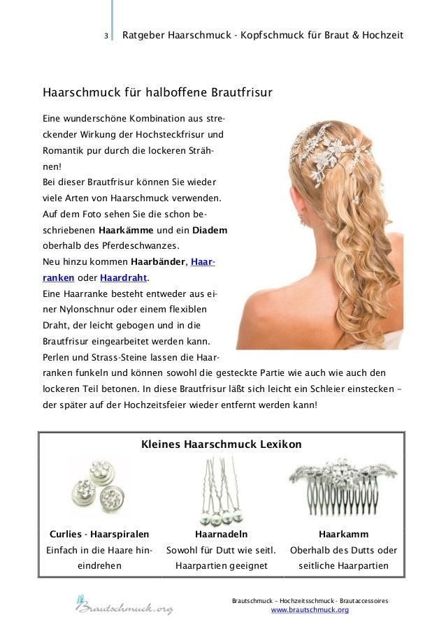 Braut haarschmuck halboffene haare  Haarschmuck für Braut und Hochzeit | Brautschmuck.org