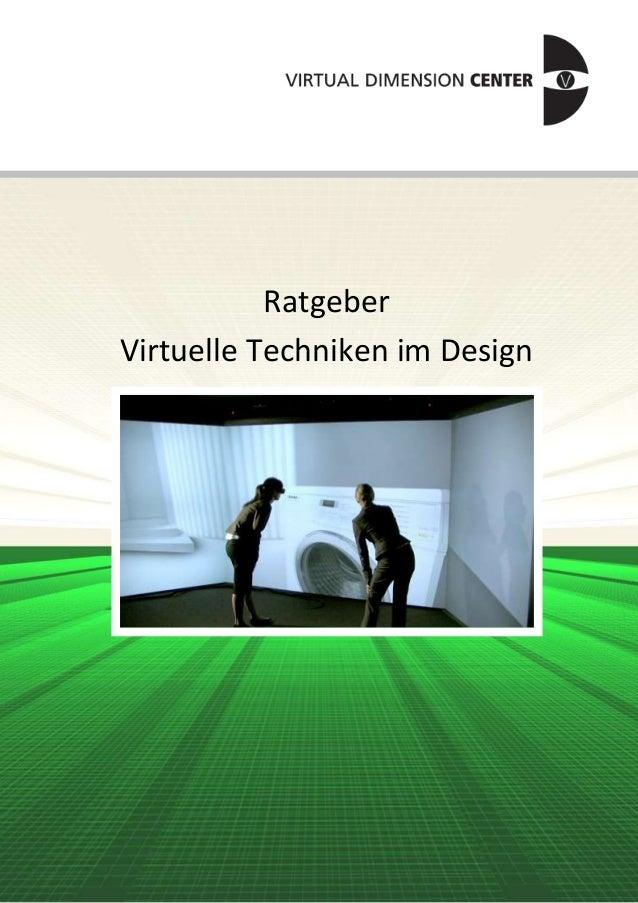 Ratgeber Virtuelle Techniken im Design