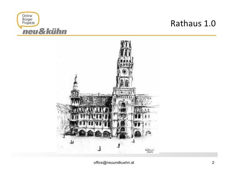 Rathaus 2.0: Stadtkommunikation Slide 2