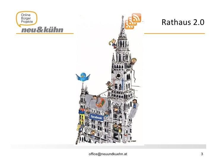 Rathaus 2.0: Stadtkommunikation Slide 3