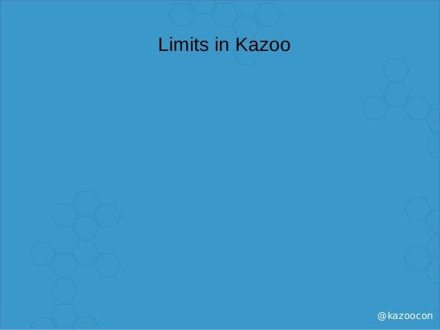@kazoocon Limits in Kazoo