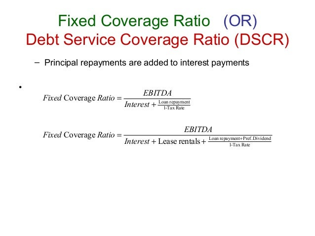 how to figure out debt service coverage ratio