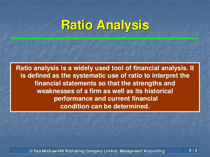 importance of ratio analysis Ratio analysis is open to analyze the financial performance and financial position of an entity it helps the decision makers to take future decisions for the entity.