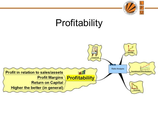 using profitability ratios to evaluate a businesses overall financial performance In general, profitability ratios measure the efficiency with which your  1 four  basic types of financial ratios used to measure a company's performance  it  by the total assets number on your balance sheet to compute return on assets.