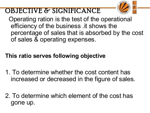 objective of ratio analysis Objectives, utilities, uses or role of ratio analysis for various parties like management, share holders / investors, creditors, employees and government are listed as follows.
