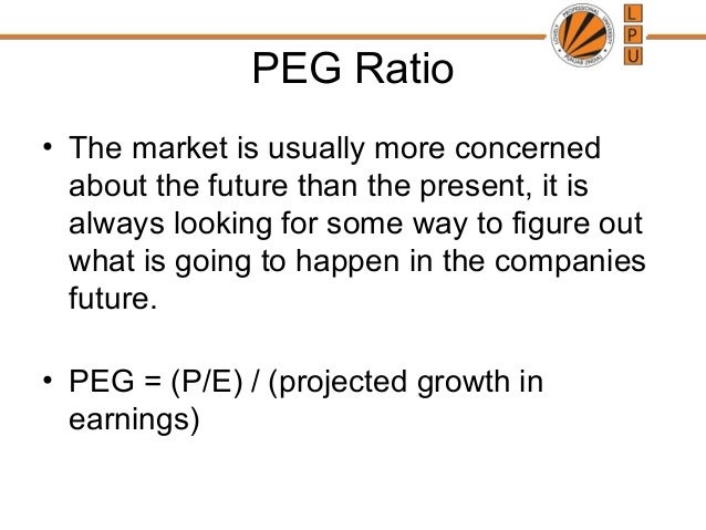 discussion of dvm peg ratio p e Answer: books has only discuss the simple p/e ratio, pe ratio measures how much investor willing to pay per dollar of current earnings discussion of dvm, peg ratio, pe ratio with examples from kelloggs essay.