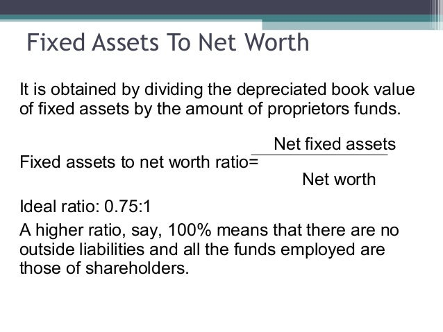 what is a good fixed asset turnover ratio