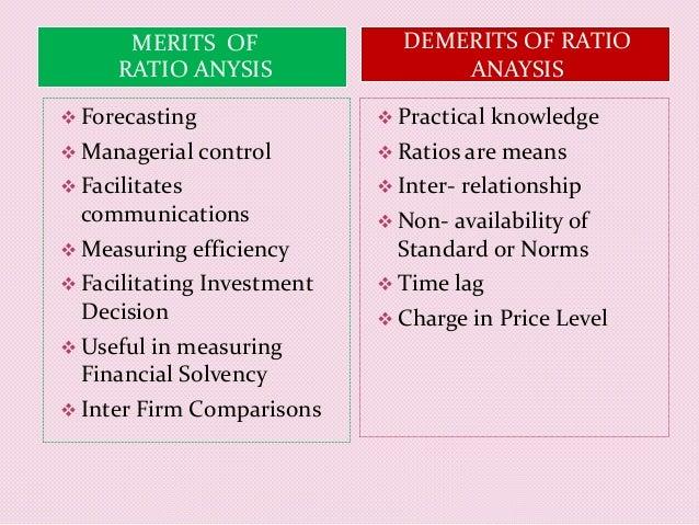 characteristics of ratio analysis